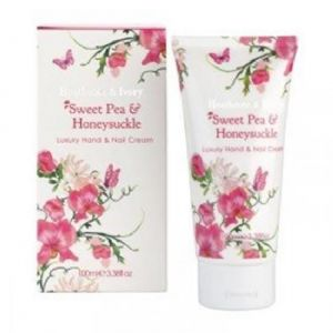 Sweet Pea & Honeysuckle Hand & Nail Cream 100ml Heathcote & Ivory